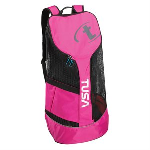 MESH BACKPACK-HOT PINK