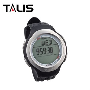 TALIS DIVING COMPUTER W / BLACK STRAP & SIDE COVER KIT - METRIC **
