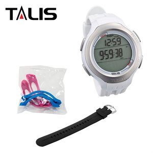 TALIS WATCH W / WHITE STRAP & SIDE COVER KIT - IMPERIAL