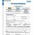 'KEYMAN' PROGRAM PRICING