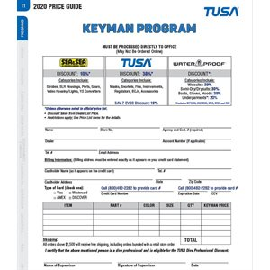 'KEYMAN' PROGRAM PRICING
