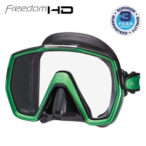 FREEDOM HD MASK - ENERGY GREEN / BLACK SILICONE