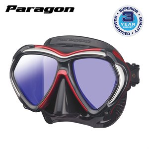 PARAGON MASK - METALLIC DARK RED