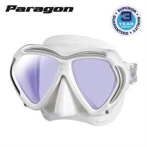 PARAGON MASK - WHITE / WHITE SKIRT