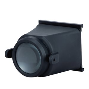 LCD MONITOR HOOD WITH LENS