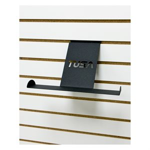 SLAT WALL BCJ HOLDER BK W / TUSA LOGO
