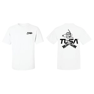 PROMO T-SHIRT WHITE EXTRA LARGE