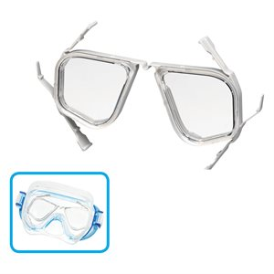 TUSA SPORT OPTICAL LENS -4.0 (PAIR ASSEMBLED WITH A FRAME)