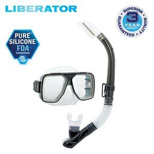 LIBERATOR MASK & SNORKEL SET - SMOKE (UM5000 / USP190)