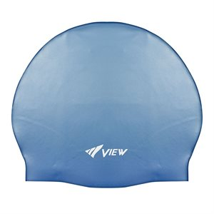 SWIM CAP SILICONE RUBBER - BLUE