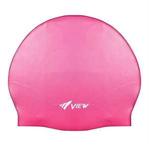 SWIM CAP SILICONE RUBBER - FLASH PINK