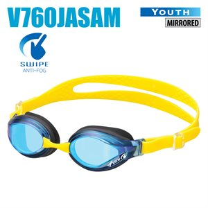 ** NEW GOGGLES, MIRRORED, BLUE / BLUE