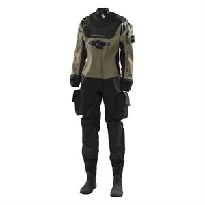 510-221-00 D3 ERGO DRYSUIT FEMALE - XS