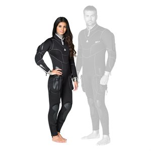 645223 SD COMBAT 7MM SEMI-DRY FULLSUIT - FEMALE M