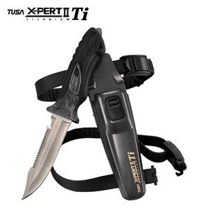 X-PERT II TITANIUM KNIFE - SILVER