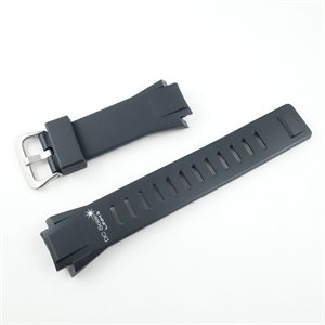 DC SOLAR LINK WATCH BLACK WRIST BAND (without Pin)