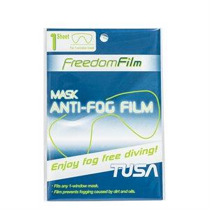 Freedom Film Anti-Fog Sheets for Single Window Masks