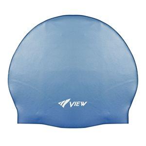 SWIM CAP SILICONE RUBBER - BLUE