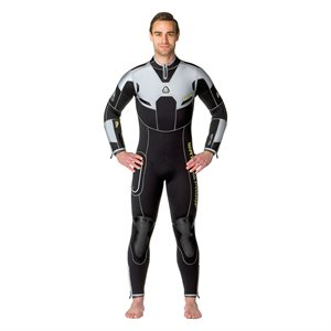061115 W4 7MM FULLSUIT WITH BACK ZIP - MALE L TALL