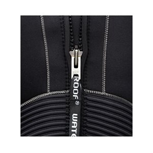 L00867 NEW WATERPROOF TEXT LOGO ZIPPER TAB